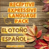 NO PREP FALL Receptive & Expressive Language Pack (PK-1) SPANISH