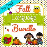 NO PREP Fall Language Bundle!