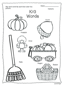 NO-PREP! Fall Speech & Language Activities