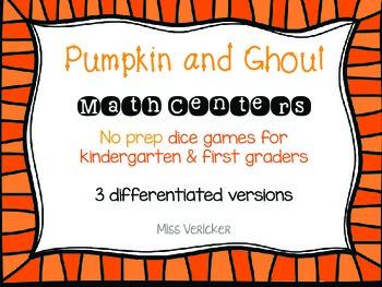 Pumpkin Dice Math Games Teaching Resources Teachers Pay Teachers