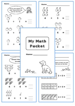 NO PREP First Grade Addition Packet