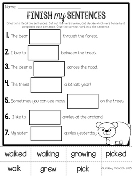NO PREP First Grade Morning Work/Homework Grab Bag {52 Pages}