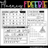 NO PREP Fluency Printables