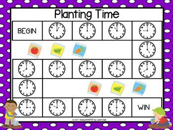 NO PREP Garden Themed Math and Literacy Games Bundle