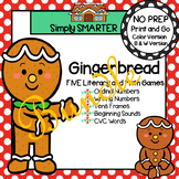 NO PREP Gingerbread Games Bundle