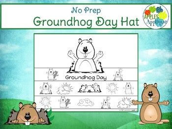 Groundhog Day Hat - NO PREP