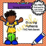 NO PREP Growing Pattern Games Bundle