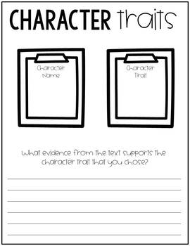 NO PREP Guided Reading Resource - Book Study