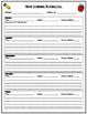Homework Packet - Spelling Menu {EDITABLE}