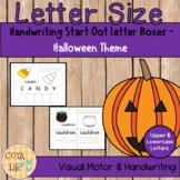 NO PREP Halloween Handwriting Fun Packet