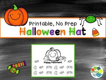NO PREP Halloween Hat