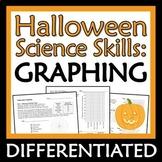 NO PREP Halloween Science Activity Practice Graphing Worksheet