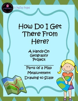 NO PREP! Hands-On Map Skills and Geography Project