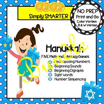 NO PREP Hanukkah Games Bundle