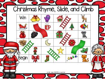 NO PREP Holiday Themed Math and Literacy Games Mega Bundle
