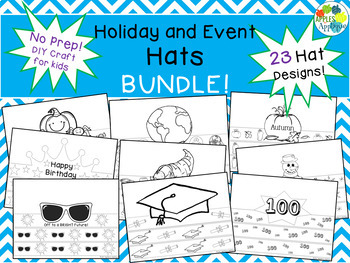 NO PREP Holiday and Events Hat BUNDLE with 23 Hats