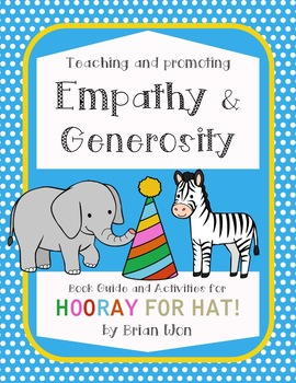 *no prep* Hooray for Hat! Activities, Character Education, Centers, Empathy