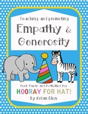 *no prep* Hooray for Hat! Activities, Character Education,