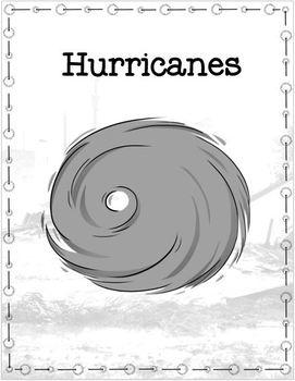 NO PREP Hurricanes Cloze Reading