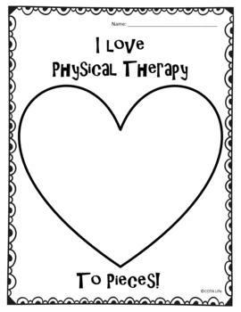 NO PREP I Love OT, PT, ST, Therapist, Teacher To Pieces!
