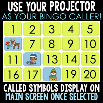 NO PREP INTERACTIVE Christmas Build A Bingo