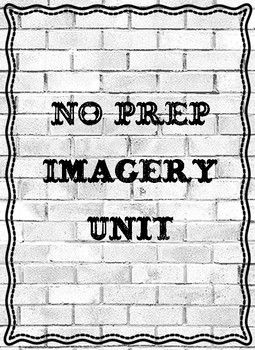 NO PREP Imagery Unit