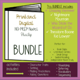 NO PREP Independent Novel Study - MYSTERY THEMED BUNDLE
