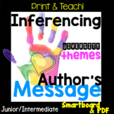NO PREP! Inferencing Author's Message Unit, Diversity, Sma