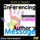 NO PREP! Inferencing Author's Message Unit, Diversity, PDF Unit