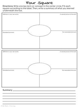 NO PREP Interactive Notebook Output Pages for ANY Subject or Lesson!