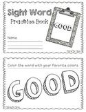 NO PREP Interactive Sight Word Practice Book - GOOD