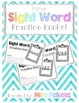 NO PREP Interactive Sight Word Practice Book - SAW