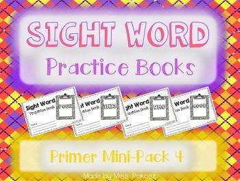 NO PREP Interactive Sight Word Practice Mini-Bundle 4 - Pr