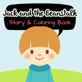NO PREP! Jack and the Beanstalk Fairy Tales Story and Colo