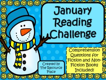 NO PREP January Reading Challenge!