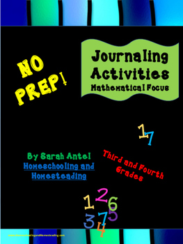 NO PREP! Journaling Activities: Mathematical Focus