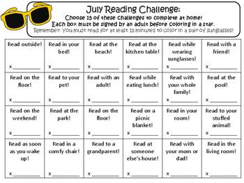 NO PREP July Reading Challenge!