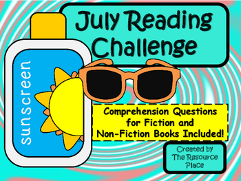 NO PREP July Reading Challenge!