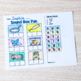 NO PREP Kinder Cut and Paste Pack for Reading