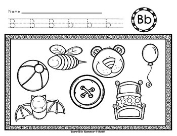 NO PREP Kindergarten Learn Letter Sounds