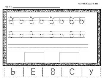 NO PREP Kindergarten Letter MEGA Bundle