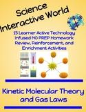 NO PREP Homework Bundle -  Kinetic Molecular Theory and Gas Laws