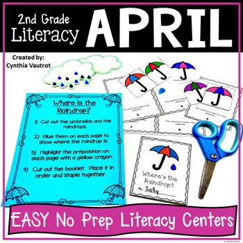 NO PREP! LITERACY Centers for April {2ndGrade}