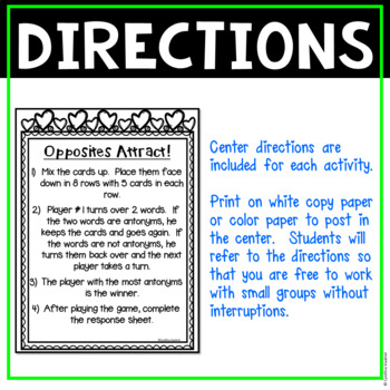 4th Grade Literacy Centers for February No Prep