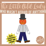 NO PREP LOW PREP| Scarecrow Puppet & Felt Board Pieces| Bo