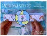 NO PREP Language Slider Crowns: Earth Day Speech Therapy Activities