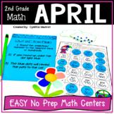 NO PREP! MATH Centers for April {2nd Grade}