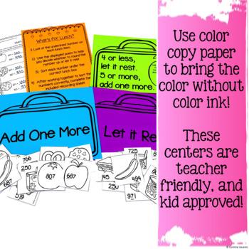NO PREP! MATH Centers for February {2nd Grade}