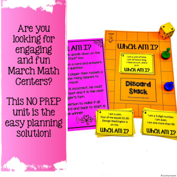 NO PREP! MATH Centers for March {2nd Grade}
