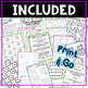 NO PREP! MATH Centers for March {3rd Grade}
